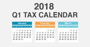 Q1 tax planning